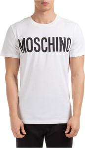 T-shirt Moschino w młodzieżowym stylu z bawełny