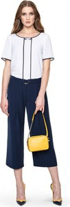 Granatowe spodnie POTIS & VERSO w stylu retro