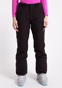 Czarne spodnie sportowe 4F z dzianiny