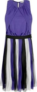 Sukienka Silvian Heach bez rękawów z okrągłym dekoltem