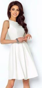 Sukienka Ivon bez rękawów z tkaniny