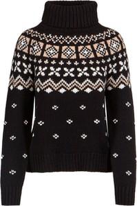 Czarny sweter Bogner z kaszmiru w stylu casual