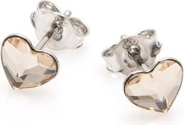 Ania Kruk Kolczyki AIDA srebrne z kryształem Swarovskiego