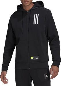 Czarna bluza Adidas z bawełny