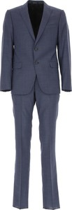 Niebieski garnitur Emporio Armani