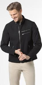 Czarna kurtka Schott N.y.c. w stylu casual krótka