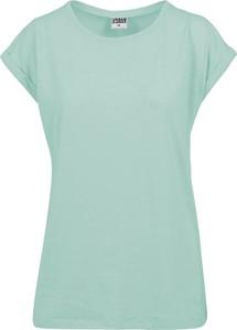 T-shirt Emp z krótkim rękawem z bawełny z okrągłym dekoltem