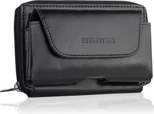 Czarna torba Betlewski ze skóry