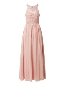 Sukienka Laona z szyfonu maxi rozkloszowana