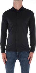 Czarna koszula Jeordie`s w stylu casual