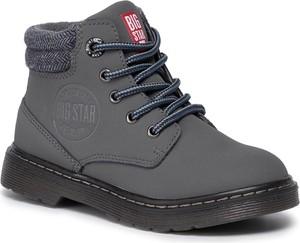 Czarne buty dziecięce zimowe Big Star