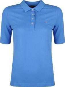 Niebieski t-shirt ubierzsie.com z tkaniny