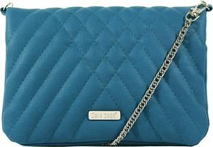 Niebieska torebka Dara Bags mała na ramię