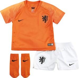 Pomarańczowe body niemowlęce Nike