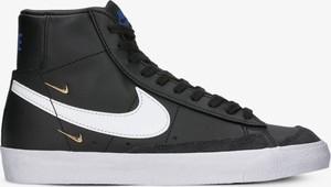 Czarne trampki Nike sznurowane