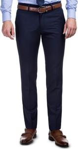 Granatowe spodnie giacomo conti