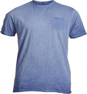 T-shirt Allsize z jeansu z krótkim rękawem