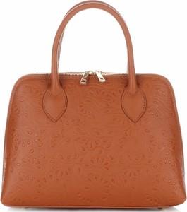 Eleganckie torebki skórzane kuferki firmy genuine leather rude