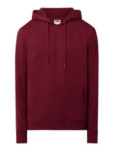 Czerwona bluza Urban Classics w młodzieżowym stylu z bawełny