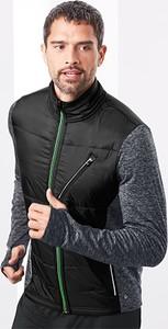 Czarna bluza Tchibo z tkaniny