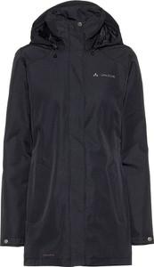 Czarny płaszcz Vaude