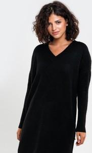 Czarny sweter Big Star z wełny