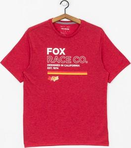 T-shirt Fox z dżerseju z krótkim rękawem