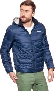 Niebieska kurtka Wrangler w stylu casual