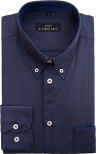 Niebieska koszula Giacomo Conti w stylu casual