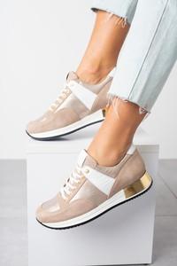 Buty sportowe Kati z płaską podeszwą sznurowane