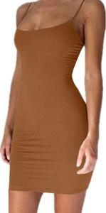 Sukienka Kendallme w stylu casual z okrągłym dekoltem na ramiączkach