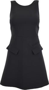 Czarna sukienka Patrizia Pepe mini bez rękawów
