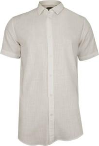 Koszula Brave Soul z krótkim rękawem z tkaniny