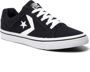 e86d8238a6d15 Tenisówki CONVERSE - Cons El Distrito Ox 155064C Black/White/Black