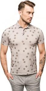 Koszulka polo Recman z krótkim rękawem w młodzieżowym stylu