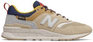Żółte buty sportowe New Balance sznurowane