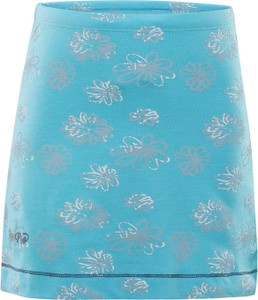 Niebieska spódniczka dziewczęca Alpine Pro