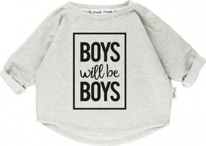 Szara bluza dziecięca