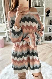 Sukienka IVET oversize w stylu casual