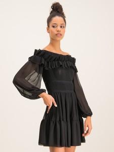 Czarna sukienka Babylon mini
