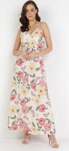 Sukienka born2be trapezowa w stylu boho maxi