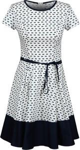 Sukienka Fokus w stylu casual z bawełny rozkloszowana