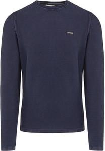 Granatowy sweter Napapijri