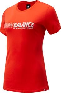 Bluzka New Balance z okrągłym dekoltem