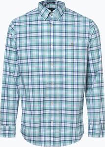 Niebieska koszula Gant z bawełny
