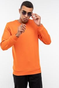 Pomarańczowa bluza BREEZY z dzianiny