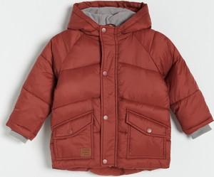 Czerwona kurtka dziecięca Reserved dla chłopców