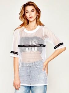 T-shirt Liu-Jo z krótkim rękawem z okrągłym dekoltem