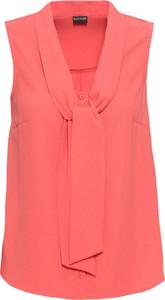 Różowa bluzka bonprix BODYFLIRT bez rękawów
