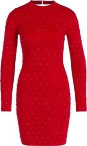 Sukienka Marciano z okrągłym dekoltem mini w stylu casual